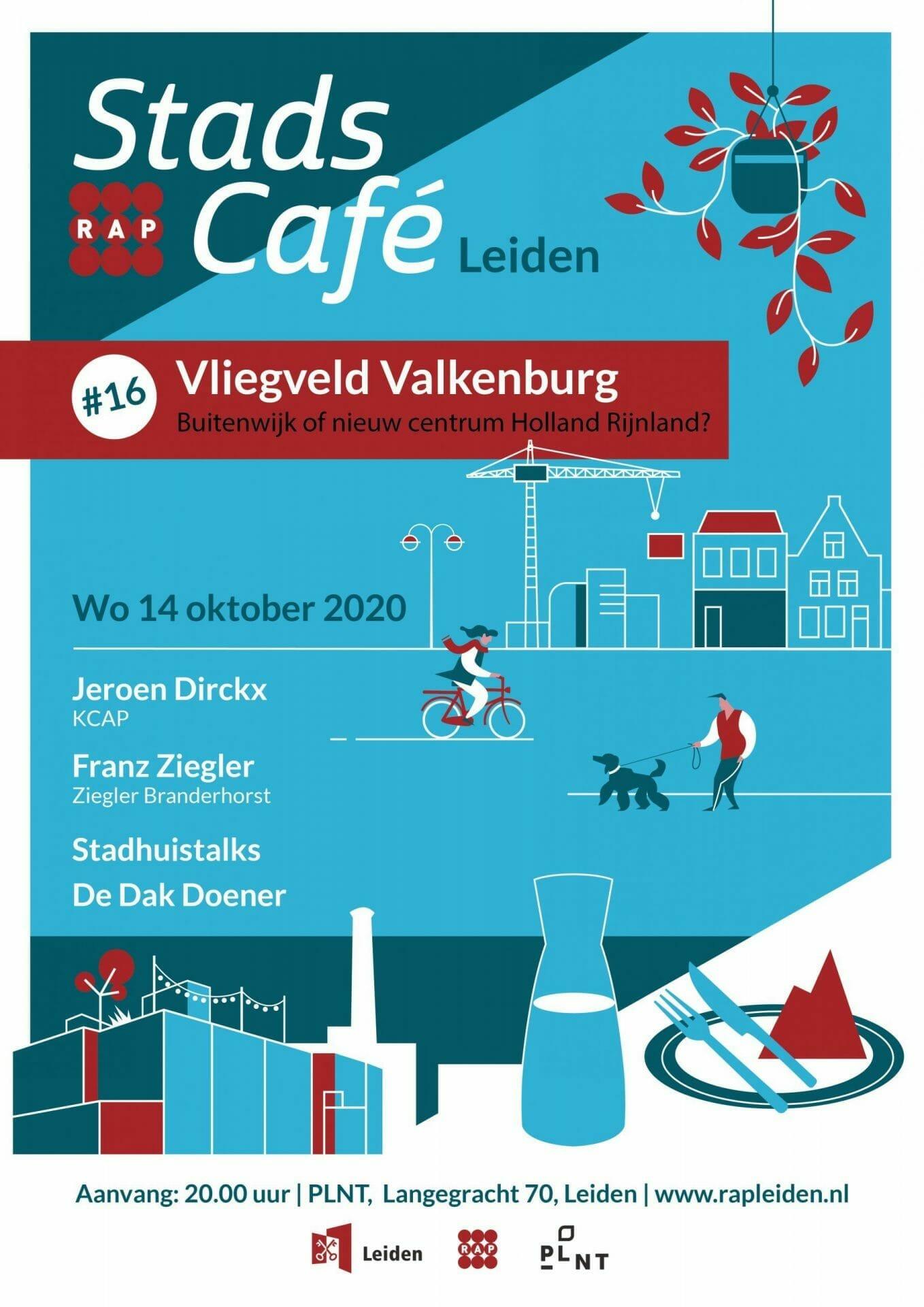 Stadscafe #16 ✈ Vliegveld Valkenburg: Buitenwijk of nieuw centrum Holland Rijnland