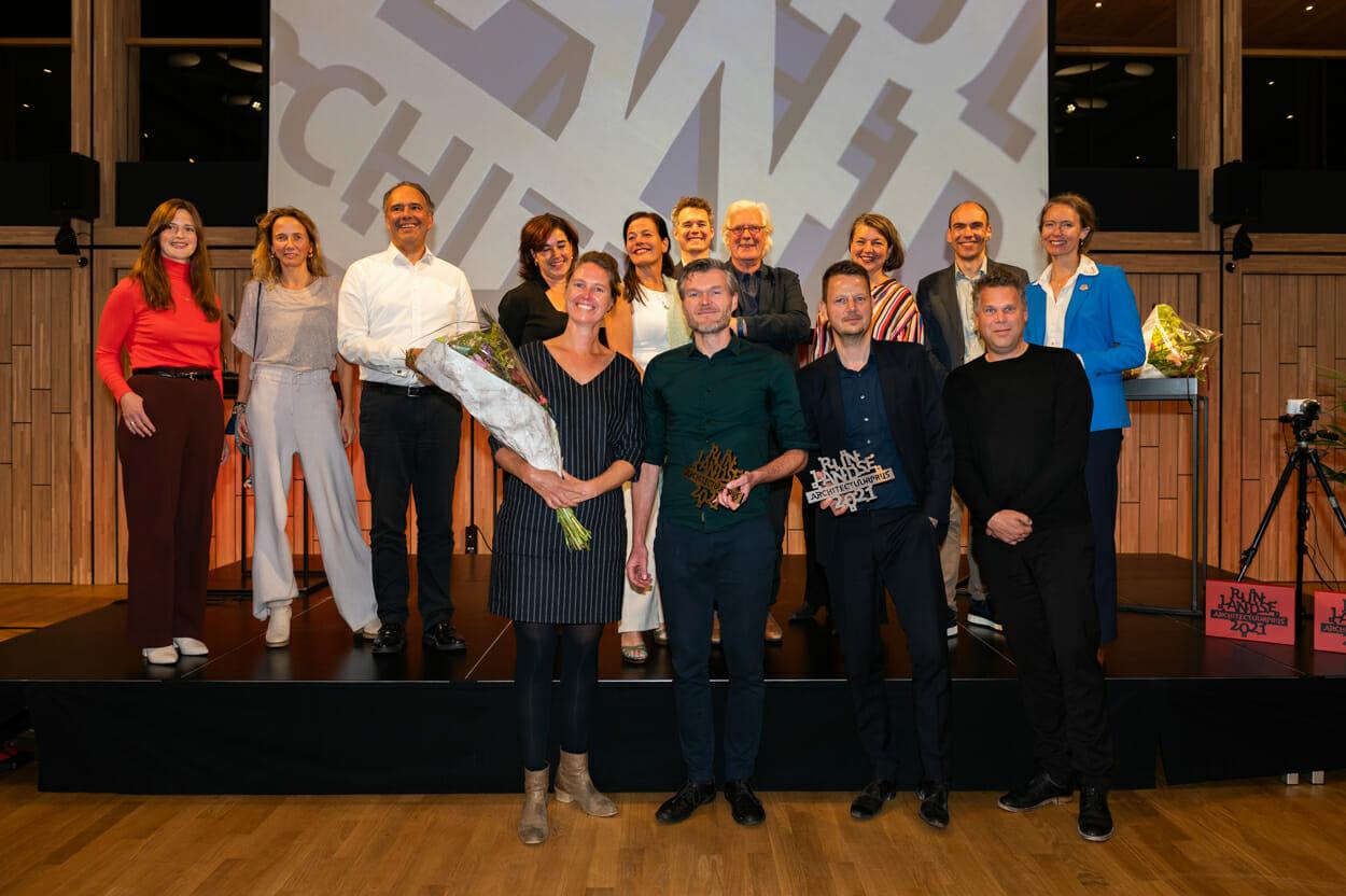 Dakwoning & Biopartner 5 winnaars Rijnlandse Architectuur Prijs 2021